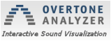 Overtone Analyzer - Interactive Sound Visualization