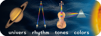 univers rhythm tones colors