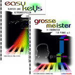 2er-Set easy keys und Grosse Meister